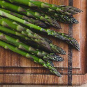 Vegetarian Summer Greens Pizza Kit - with Asparagus & Wild Mushrooms + Garden Veg