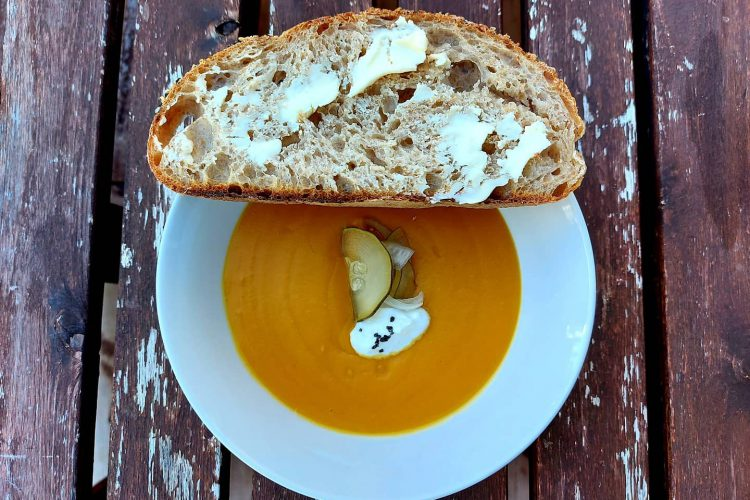 Roast Winter Squash Soup