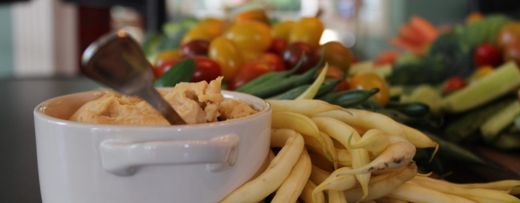 Red Lentil Hummus Grazing Board
